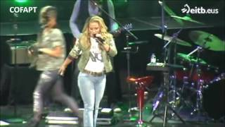 Anastacia - Sings 'Sick & Tired' at Palacio Euskalduna Jauregia in Bilbao, Spain 29062016