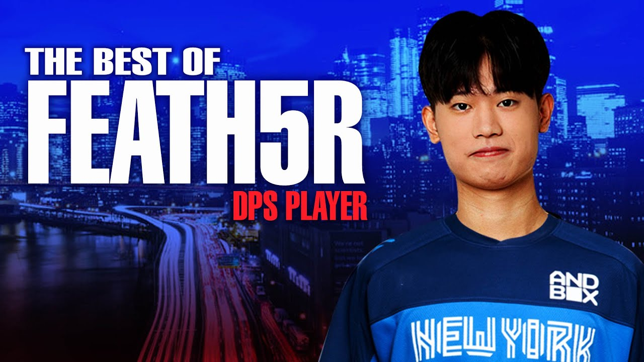 NYXL - The Best Plays From Feath5r - NYXL's New DPS Player   Overwatch League 2021