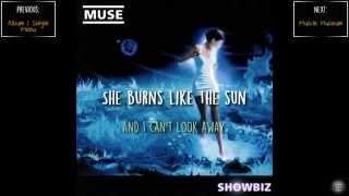 Muse - Sunburn | Lyrics | HD | English | Español