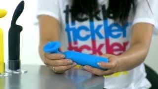 video Žlutý vibrátor na bod G Nosy Powertickler