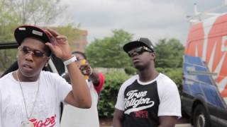 "Behind the scenes ''Jim Fetti - Bandz ft YFN Lucci "" Shot by @TheFaceyKid"