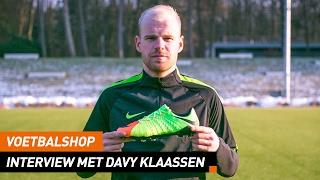 Voetbalshop   Interview met Davy Klaassen x Hypervenom 3