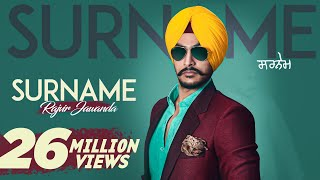 Surname |(Full HD)| Rajvir Jawanda Ft. MixSingh| New Punjabi Songs 2016 | Latest Punjabi Songs 2016 width=