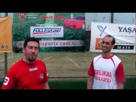 AkzoNobel - Çelikaldizel Röportaj.Otocup İzmir 2012 Fut. Turnuvası .Organizasyon FULLSPORTS.