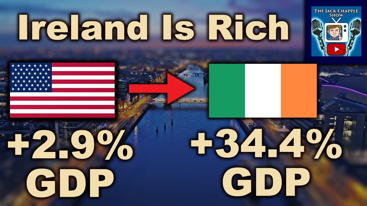 How Ireland is Quickly Becoming the Richest Country In The World