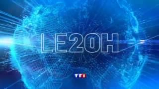 TF1 générique 20H 28/09/2013 Claire Chazal
