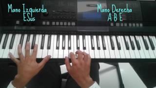 Como Tocar/Intro Dios Hablame Grupo Barak/Yahir Cortés.(Piano).