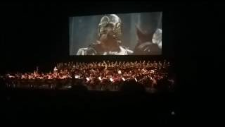 Lord of the Rings: Two Towers Live Concert Helm's Deep Rohirrim Charge Scene