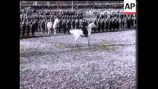 Hungary honours Horthy