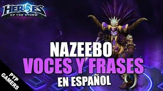 Voces y frases de Nazeebo en Español | Heroes of the Storm