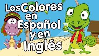 Canción de los Colores en Inglés y Español - Canción para niños - Songs for Kids in spanish width=