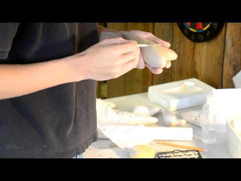 Fabrication d'une ocarina Partie 9