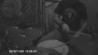 Dorme junto e acorda separado - Leleko Lemes (Drum Cover )