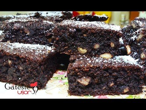 Prajitura cu Ciocolata fara Faina si Zahar