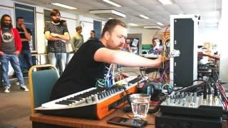 Live Modular Performance at Bristol Synth Meet - John Healy - Somatic Responses