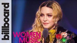 Madonna Woman of The Year Full Speech | Billboard Women in Music 2016