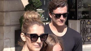 EXCLUSIVE: Celine Dion and alleged boyfriend Pepe Munoz shopping in Paris