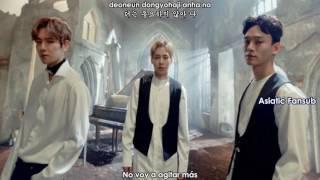 EXO-CBX - Crush U (Sub Español - Hangul - Roma)
