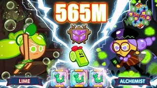 Kakao CookieRun 565M [EP.1] Lime+Alchemist [Perfect] มะนาว+นักแปรธาตุ 3 ม้าเขียว | xBiGx