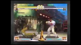 """Down for the count"" Dudley Street Fighter III Third Strike win quote"