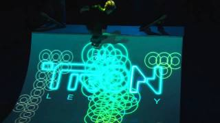 TRON: LEGACY & ENESS - 3D Light Projection - Available on Digital HD, Blu-ray and DVD Now width=
