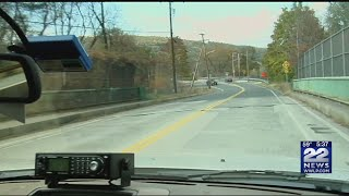 Nash's Mill Bridge in Greenfield officially closed, under construction