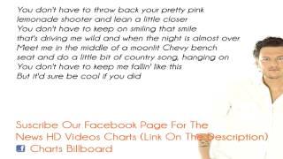 Lyrics Blake Shelton   Sure Be Cool If You Did Lyrics On Screen