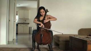 Tina Guo, cello: Foo Fighters Pretender