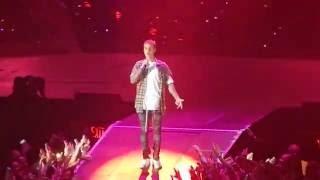 Justin Bieber - The Feeling Live Sweden