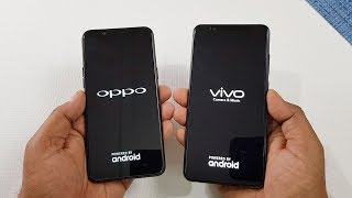 Oppo A83 vs Vivo V7 Plus Speed Test | Which is Faster !