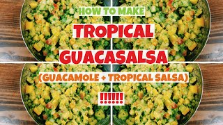 Tropical Salsa + Guacamole = TROPICAL GUACASALSA
