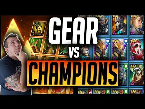GEAR vs CHAMPIONS? What makes the DIFFERENCE? | Raid: Shadow Legends
