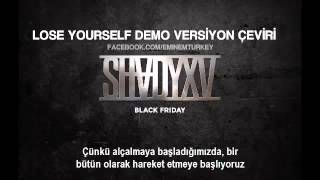 Eminem - Lose Yourself Demo Version (Türkçe Çeviri)