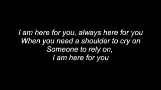 Here For You - FireHouse (Lyrics)