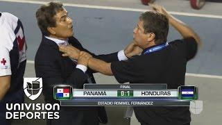 Jorge Luis Pinto y 'Bolillo' Gómez protagonizan candente pelea