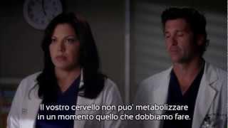 Grey's Anatomy 9x01 - Webber spegne il respiratore - Sub ITA