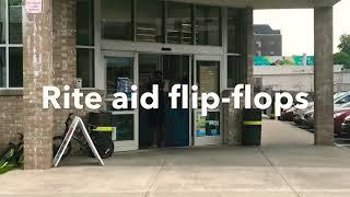 """BHAD BHABIE feat. Lil Yachty - """"Gucci Flip Flops"""" parody ( Rite Aid Flip-Flops )"""
