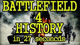 Battlefield 4 History