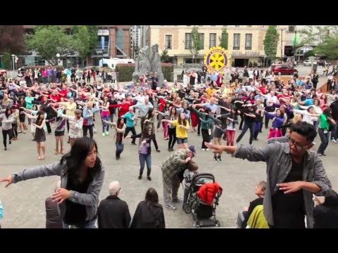 OFFICIAL VANCOUVER FLASH MOB- Rotary