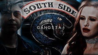 sweet pea + cheryl — gangsta