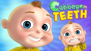 Cabbage In The Teeth - TooToo Boy Show | Cartoon Animation For Children | Videogyan Kids Shows