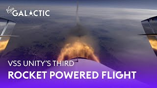 VSS Unity | Third Rocket Powered Flight