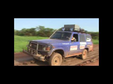 Etelä-Sudanin tiellä