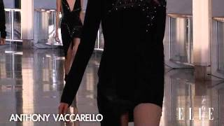 Anthony Vaccarello. Paris Fashion Week Nueva York. Otoño / invierno 2015-2016