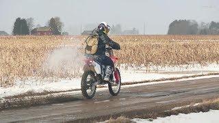 Honda CR250 2-Stroke Test Ride 2 (Raw Sound)