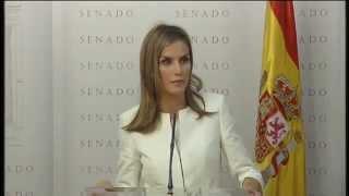 """Palabras de S.M. la Reina en la entrega del X Premio """"Luis Carandell"""" a Carmen del Riego"""