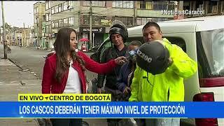 Motociclistas tendrán que cambiar cascos inseguros por orden del Ministerio de Transporte