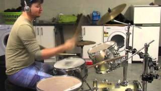 Noam Kaniel - A World Without Danger (drum cover)