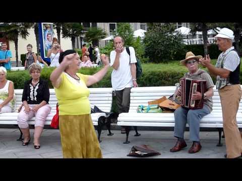 Dances at Promenade, Yalta, Crimea – July, 2010