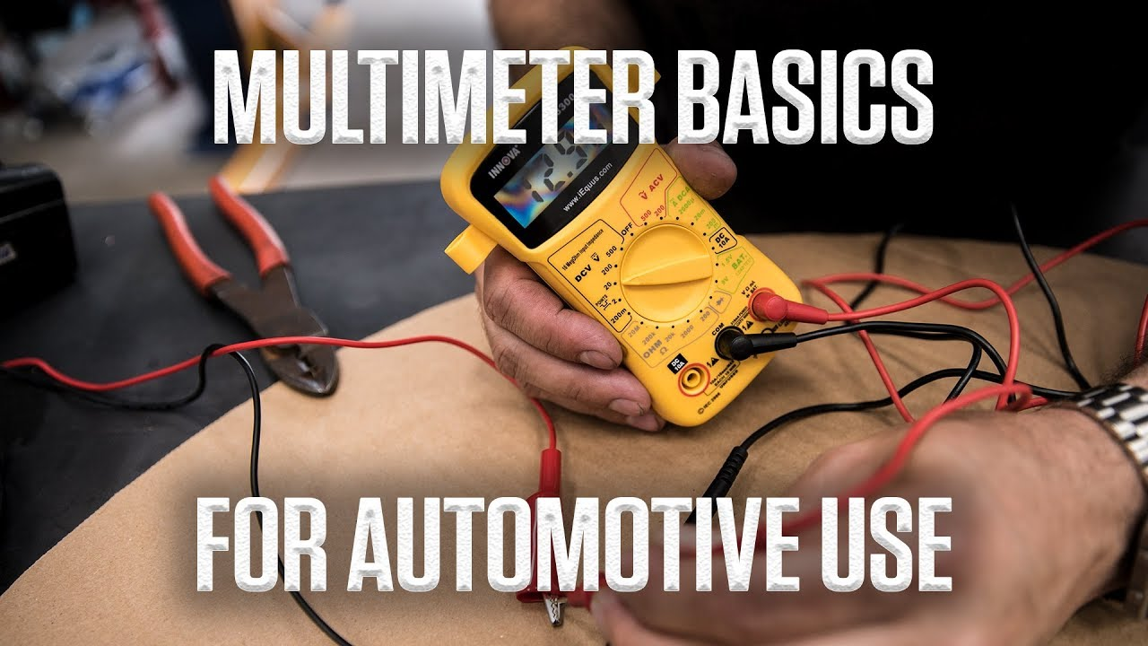 DIY: How to use a multimeter